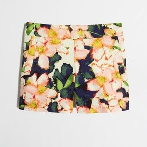 """J.Crew Women's 5"""" Floral Stretch Chino Shorts"""